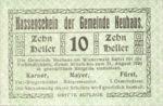 Austria, 10 Heller, FS 646e