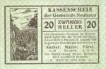Austria, 20 Heller, FS 646e