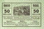 Austria, 50 Heller, FS 646e