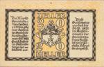 Austria, 20 Heller, FS 648a