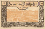 Austria, 20 Heller, FS 650a