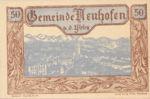 Austria, 50 Heller, FS 650e