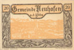 Austria, 20 Heller, FS 650e