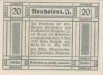 Austria, 20 Heller, FS 652IIa