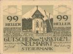 Austria, 99 Heller, FS 661b