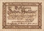 Austria, 10 Heller, FS 663a