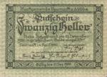Austria, 20 Heller, FS 663b