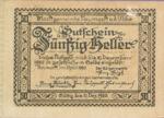 Austria, 50 Heller, FS 663b