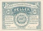 Austria, 20 Heller, FS 664a