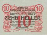 Austria, 10 Heller, FS 677a