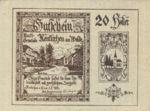 Austria, 20 Heller, FS 655Ia