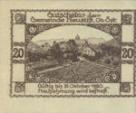 Austria, 20 Heller, FS 666ax
