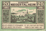 Austria, 20 Heller, FS 672a