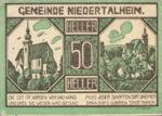 Austria, 50 Heller, FS 672a
