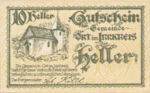 Austria, 10 Heller, FS 711a