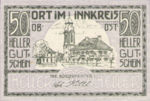 Austria, 50 Heller, FS 711a