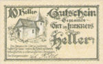 Austria, 10 Heller, FS 711b