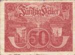 Austria, 50 Heller, FS 692Ib