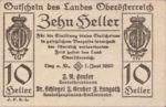 Austria, 10 Heller, FS 692IIa