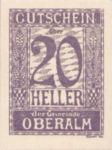 Austria, 20 Heller, FS 681IIb
