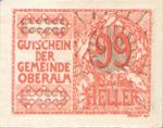 Austria, 99 Heller, FS 681IIa