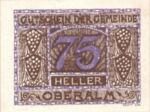 Austria, 75 Heller, FS 681IIb