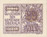 Austria, 99 Heller, FS 681IIb