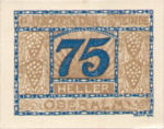 Austria, 75 Heller, FS 681IIc