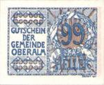 Austria, 99 Heller, FS 681IIc