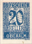 Austria, 20 Heller, FS 681IIc