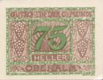Austria, 75 Heller, FS 681IId