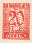 Austria, 20 Heller, FS 681IIa