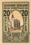 Austria, 20 Heller, FS 700Ib