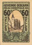 Austria, 60 Heller, FS 700Ib