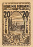 Austria, 20 Heller, FS 700IIa