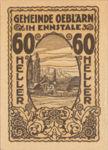 Austria, 60 Heller, FS 700IIa