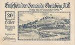 Austria, 20 Heller, FS 701aF
