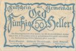 Austria, 50 Heller, FS 703d