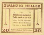 Austria, 20 Heller, FS 705b