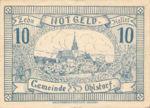 Austria, 10 Heller, FS 708d