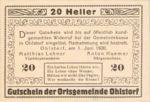 Austria, 20 Heller, FS 708f