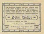Austria, 10 Heller, FS 710Ia