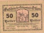 Austria, 50 Heller, FS 712a3.1
