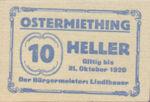 Austria, 10 Heller, FS 713IIa
