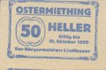 Austria, 50 Heller, FS 713IIa