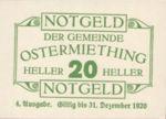 Austria, 20 Heller, FS 713IVc