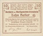 Austria, 10 Heller, FS 717