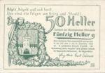 Austria, 50 Heller, FS 717