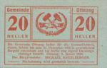 Austria, 20 Heller, FS 718a