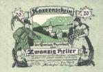 Austria, 20 Heller, FS 725